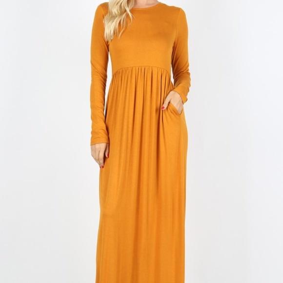 7edc0b898c5 NEW Plus pocket maxi dresses